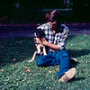 Greg & Skylla as a pup - August 1971
