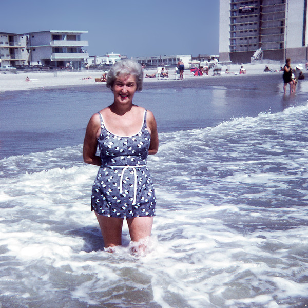 Mom - Ortley Beach - 1971