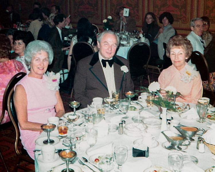 Mom, Dad & Aunt Ruth at Boni's wedding reception