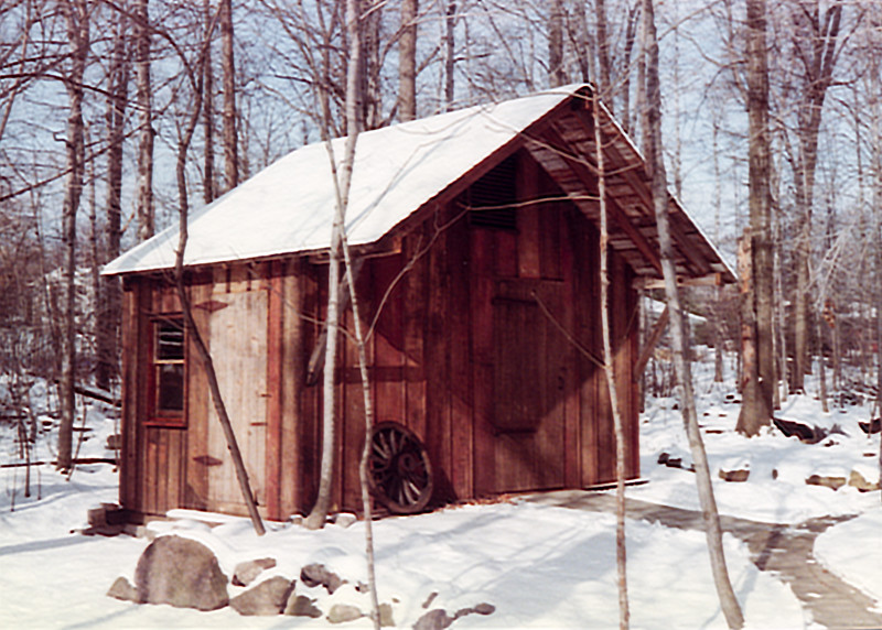 Barn Dad built circa 1980