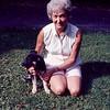 Mom & Skylla as a pup - August 1971