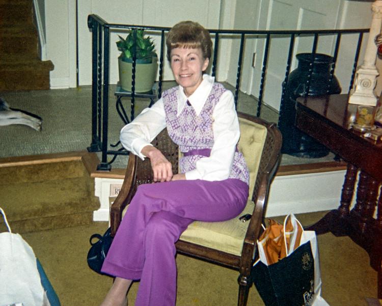 Christmas 1972 - Aunt Ruth