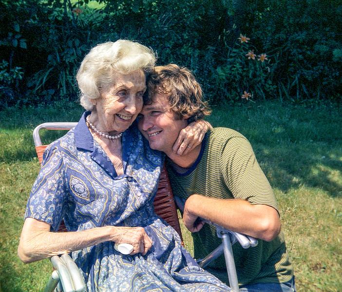 Nana & Greg - Spring 1973