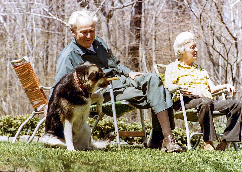 Mom & Dad with Skylla c. 1981