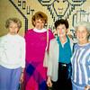 Aunt Ruth, Boni, Aunt Maureen & Mom - March 1990