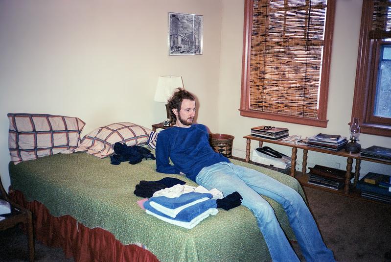 Leonia apartment's bedroom - 1982