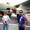 Mercedes with Barry Weinberg on the Intrepid - 1995