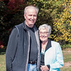Barry with godmother Maureen - October 15, 2014
