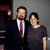 Mercedes with Barry Weinberg at his parent's 50th anniversary celebration c. 1991