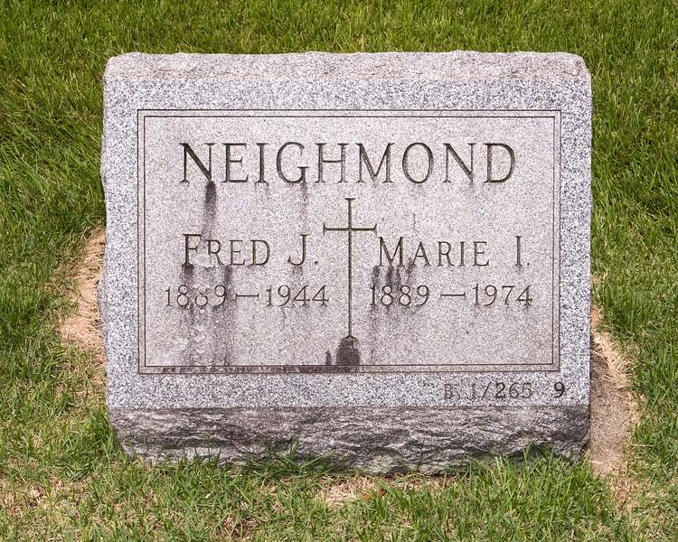 Fred & Marie Neighmond - St. Joseph's Hackensack, NJ