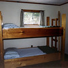 Bunk beds in the spare bedroom