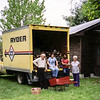 Loading up the Ryder after selling the house in 1982
