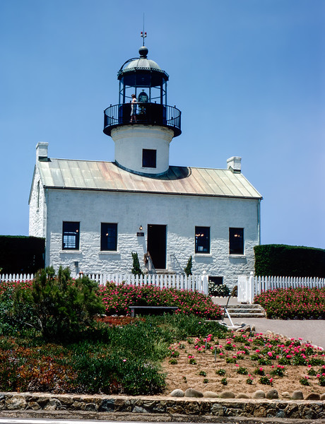 Point Loma lighthouse (1855) - San Diego Bay - 1964