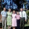 Santa Ana backyard of Aunt Muriel & Uncle Len (AF) - 1964