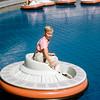 Disneyland style bumper cars - 1964