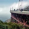 On the Golden Gate Bridge - 1964