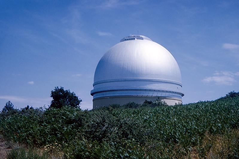 Palomar Observatory - Palomar mountain range - 1964