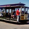 San Francisco cable car - 1964
