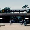 San Diego Zoo entrance - 1964