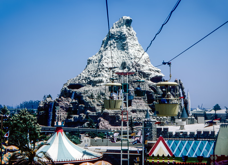 Disneyland's Skyway to the Matterhorn - 1964
