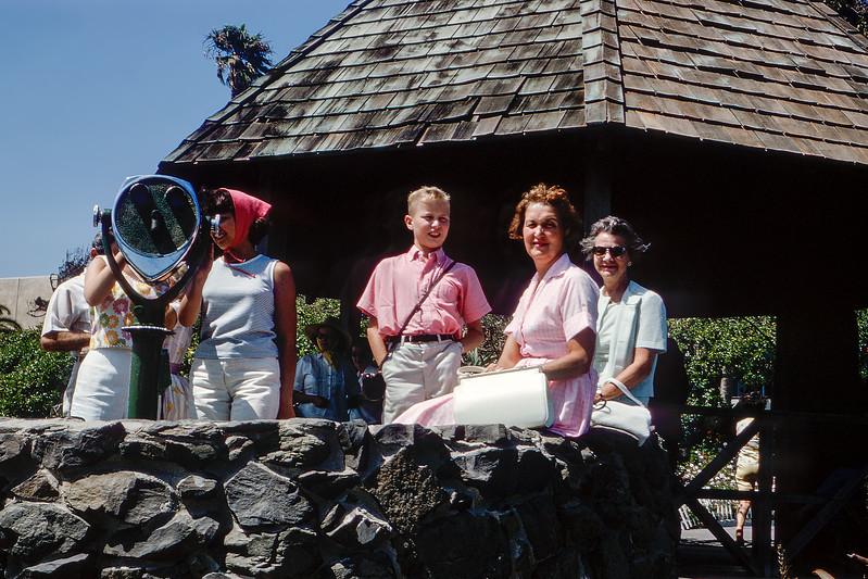 The Victor Hugh Inn gazebo - Lookout of Laguna Beach - 1964