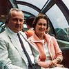 Dad & Mom in the Observation car