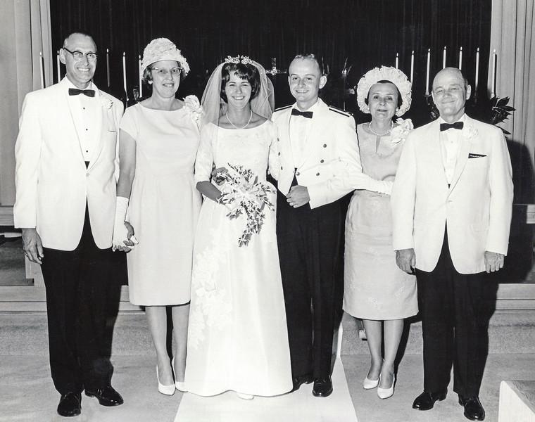 Cousin Nancy's wedding in Oklahoma (N) - July 18, 1964