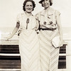 Rita & Nana at the beach - July 1936