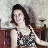 Rita circa 1940 - 1st color photo