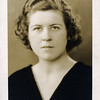 Ruth Coyle nee McGinnis high school photo - 1935