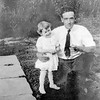 Rita with father Fred - 1917