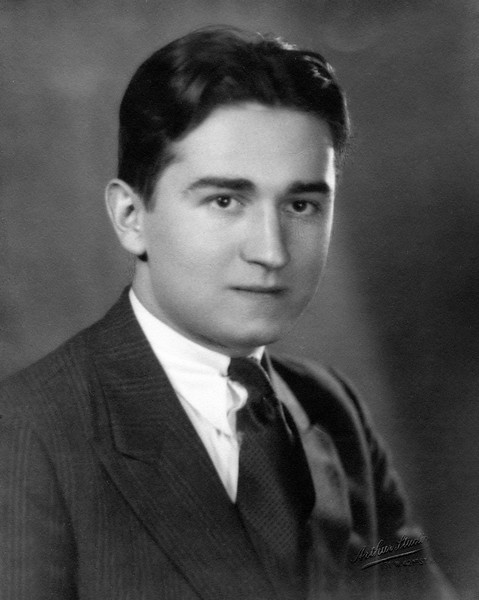 F. Wilbur Neighmond high school photo - 1932