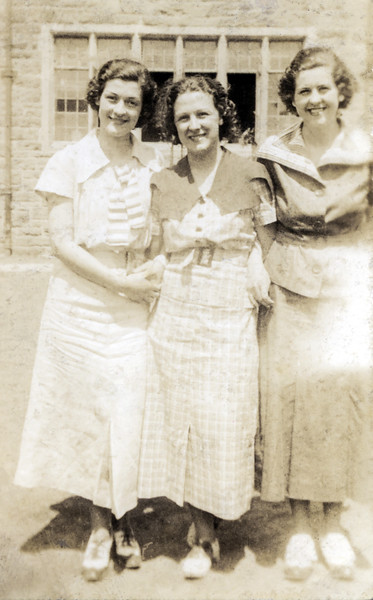 Dot Doolan, Mary Bronde & Ruth McGinnis - June 17, 1934