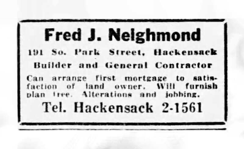Classified Ad - The Record - October 24, 1930