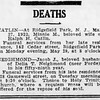 Jacob J. Neighmond obituary - The Record - May 29, 1922