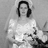 Rita at home in her wedding dress - September 6, 1941