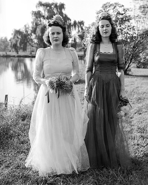 Cousins Dorothy & Peggy - Maid & Matron of Honor