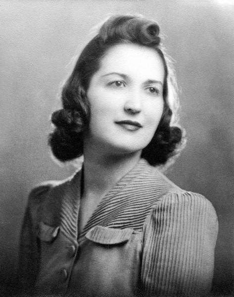 Rita's engagement photo - 1941