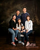 family portrait in Salt Lake Studio