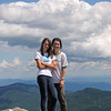 Ashley and Julia on Mt Mansfield