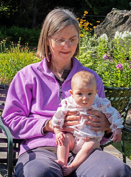 Grandma Jean with Adeline