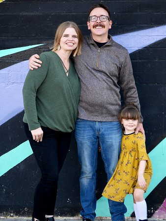 family against wall 1