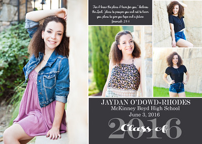 Jaydan senior announcement