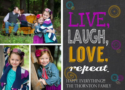 Thornton_Live Laugh Love Christmas Card
