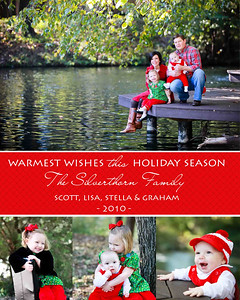 L&S Silverthorn holiday card low