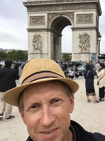 Europe Trip-Aug 2017 (Arc de Triomphe 2)