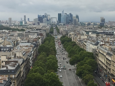 Europe Trip-Aug 2017 (Top of Arc de Triomphe 9)