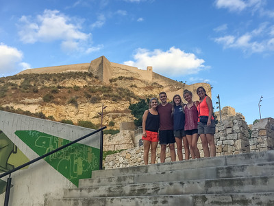 Europe Trip-Aug 2017 (Alicante Castle)