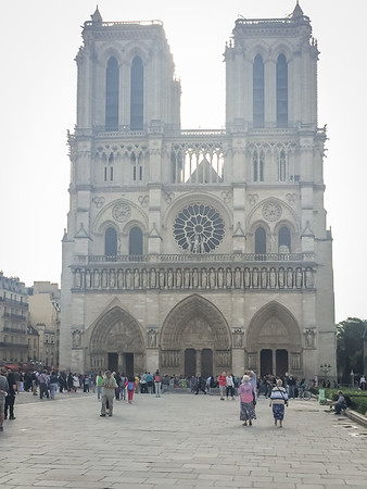 Europe Trip-Aug 2017 (Notre Dame)