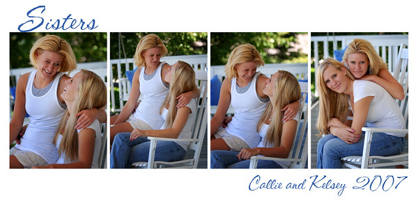 callie and kelsey collage